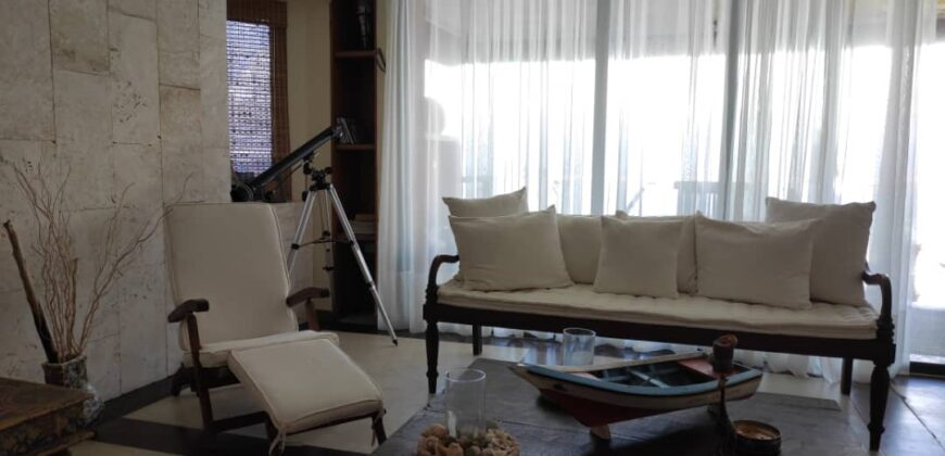 Exclusivo apartamento con vista al mar